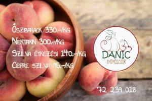 őszibarack, nektarin